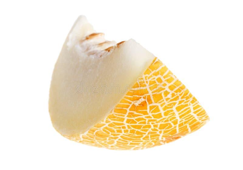 odosobniony melonowy biel zdjęcie royalty free
