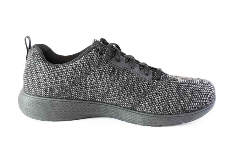 Odosobniony nowożytny stylowy sporta but zdjęcia royalty free