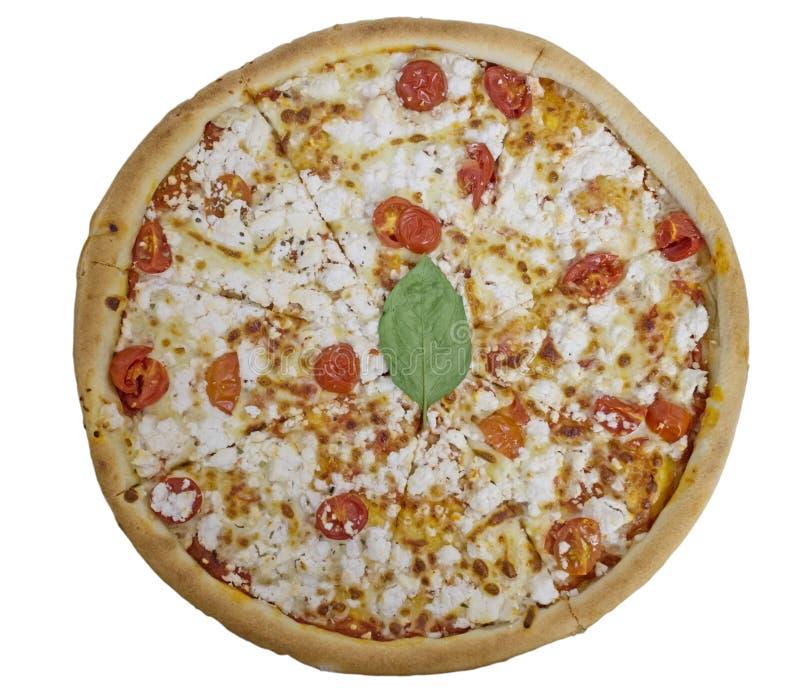 Odosobniony pizzy primavera obrazy royalty free