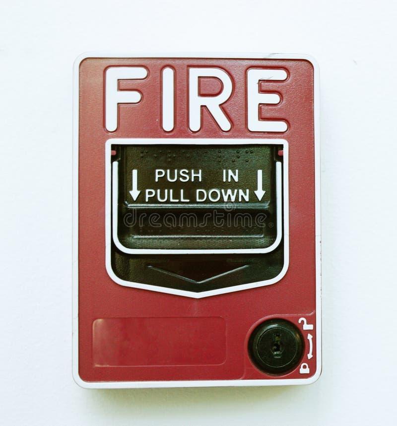 Odosobniony Pożarniczego alarma wizerunek zdjęcia royalty free
