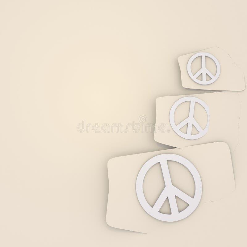 Download Odosobniony Pokojów Symboli/lów Tło Ilustracji - Ilustracja złożonej z reklama, swish: 28973999