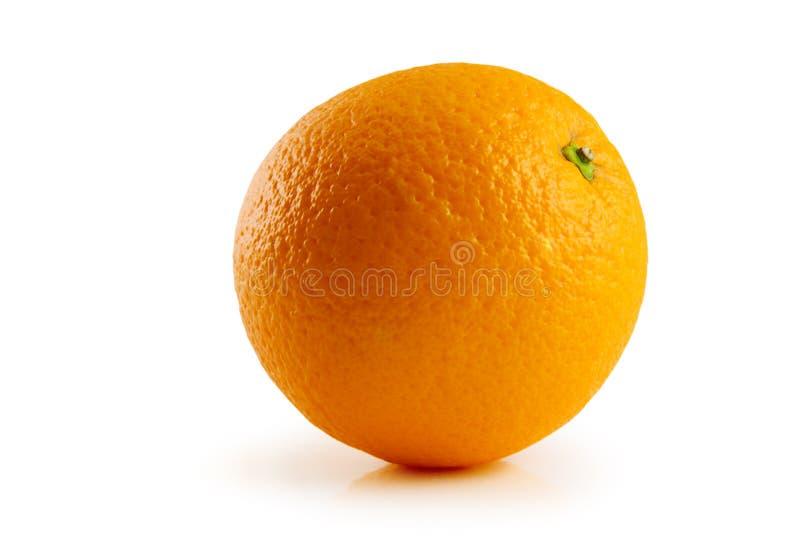 odosobniony pomarańczowy biel zdjęcia royalty free