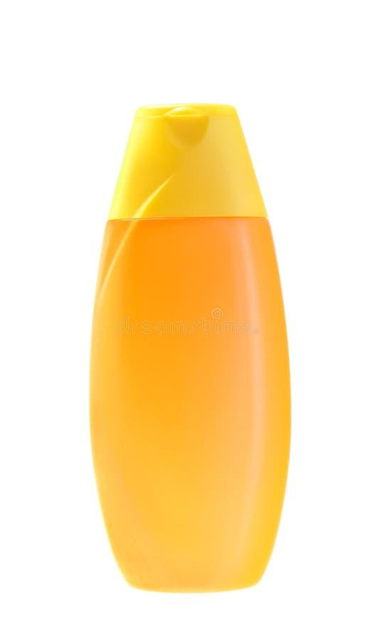 odosobniony pomarańczowy szampon zdjęcie royalty free
