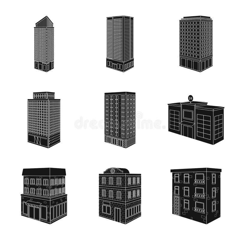 Odosobniony przedmiot architektura i nieruchomo?ci ikona Kolekcja architektury i budowy wektorowa ikona dla zapasu royalty ilustracja