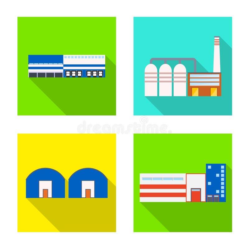 Odosobniony przedmiot architektury i technologii ikona Kolekcja architektura i budynek akcyjna wektorowa ilustracja ilustracji