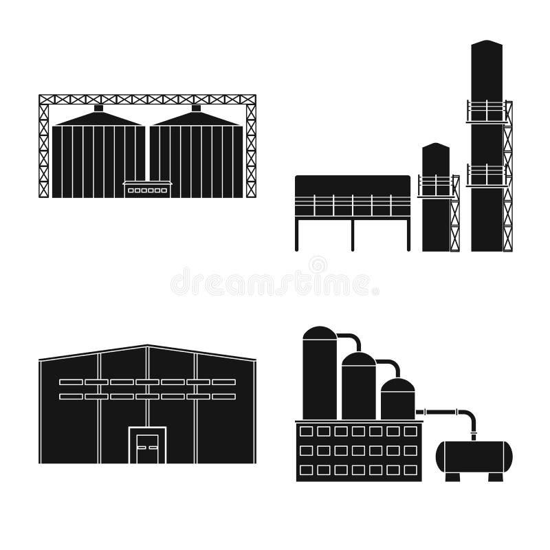 Odosobniony przedmiot architektury i technologii symbol Kolekcja architektura i budynek wektorowa ikona dla zapasu ilustracji