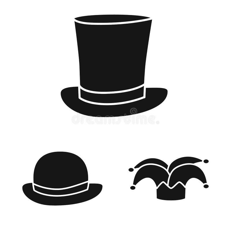 Odosobniony przedmiot beanie i bereta ikona Kolekcja beanie i je?arki akcyjny symbol dla sieci ilustracja wektor