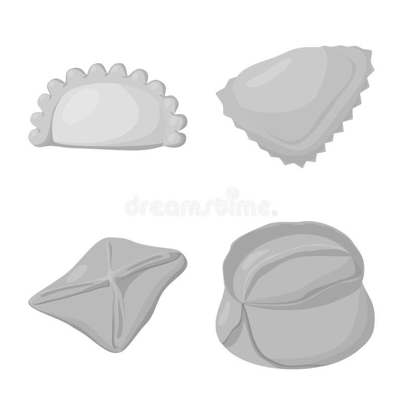 Odosobniony przedmiot kluchy i faszeruj?ca ikona Kolekcja kluchy i naczynie wektorowa ikona dla zapasu royalty ilustracja