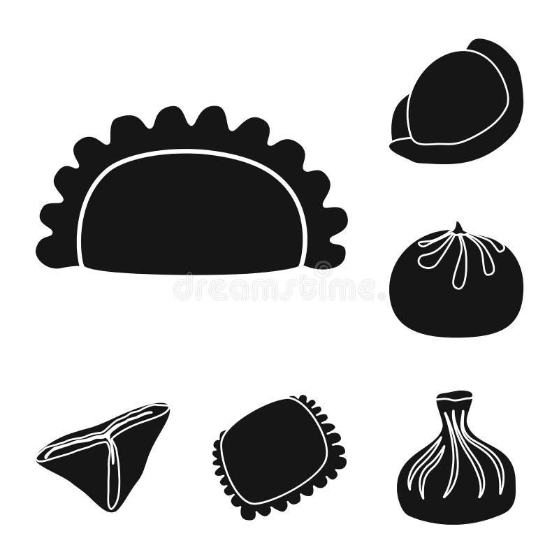 Odosobniony przedmiot kuchnia i zakąska znak r ilustracji