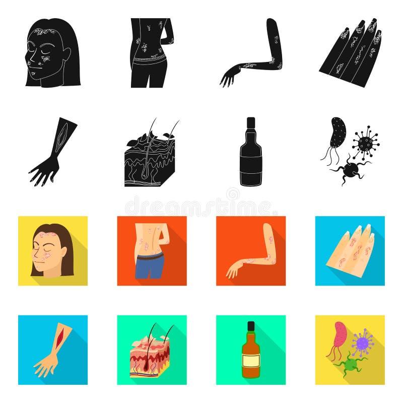 Odosobniony przedmiot medyczna i b?lowa ikona Kolekcja medyczna i choroba akcyjna wektorowa ilustracja ilustracji