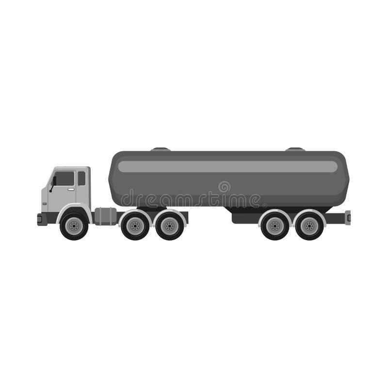 Odosobniony przedmiot ropa i gaz logo Kolekcja oleju i benzyny akcyjna wektorowa ilustracja royalty ilustracja