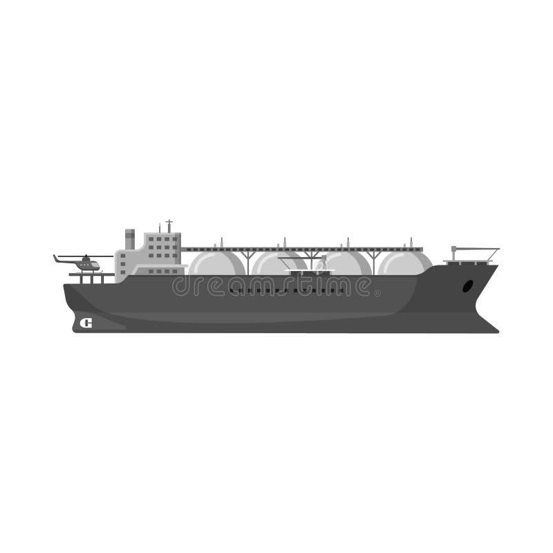 Odosobniony przedmiot ropa i gaz logo Set oleju i benzyny akcyjna wektorowa ilustracja royalty ilustracja