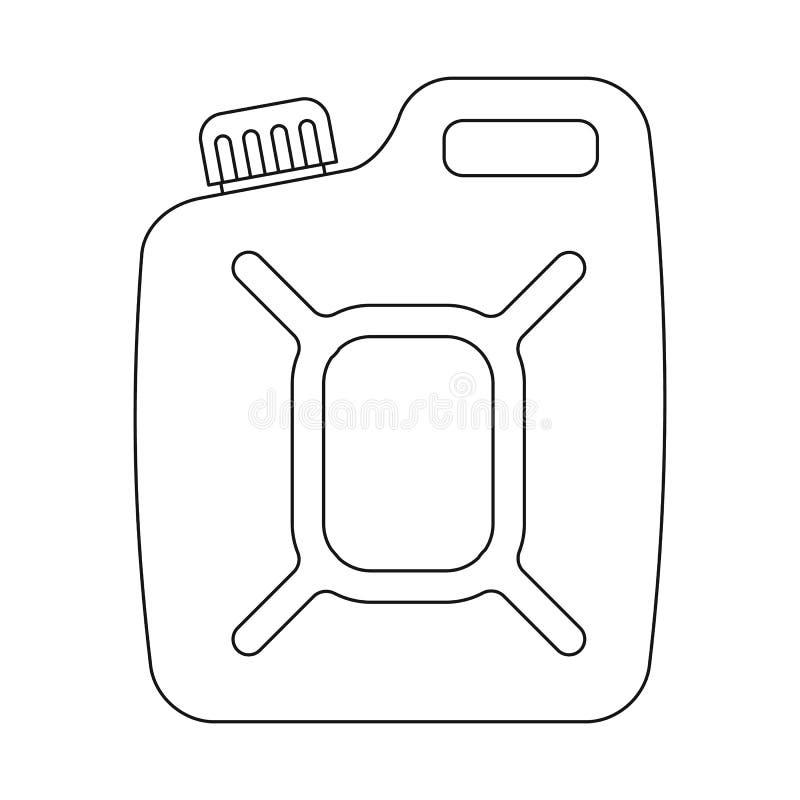 Odosobniony przedmiot ropa i gaz znak Kolekcja oleju i benzyny akcyjny symbol dla sieci ilustracja wektor