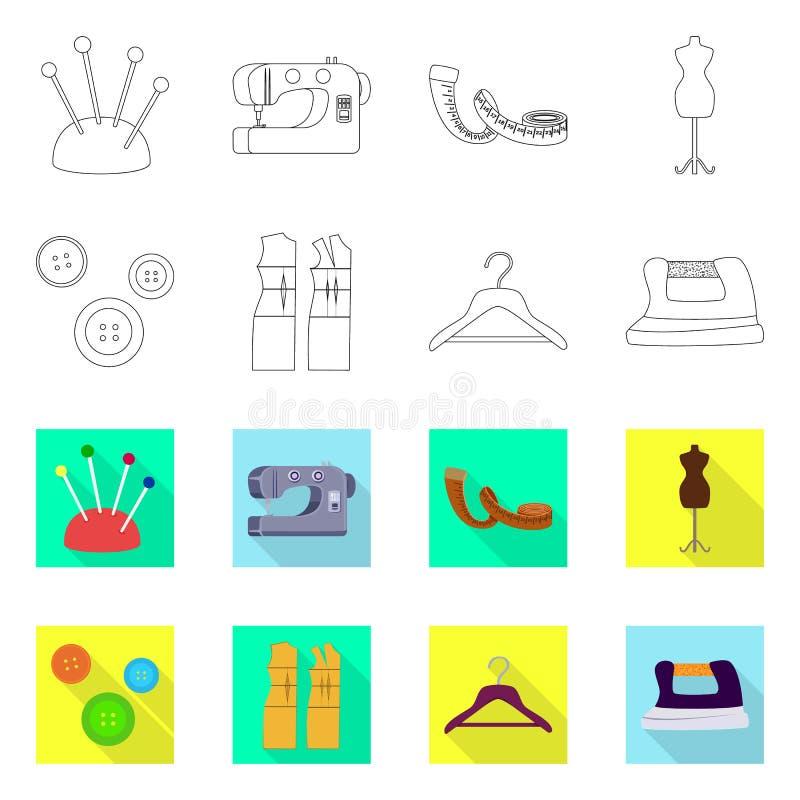 Odosobniony przedmiot rzemios?o i handcraft ikon? Kolekcja rzemios?a i przemys?u akcyjny symbol dla sieci royalty ilustracja