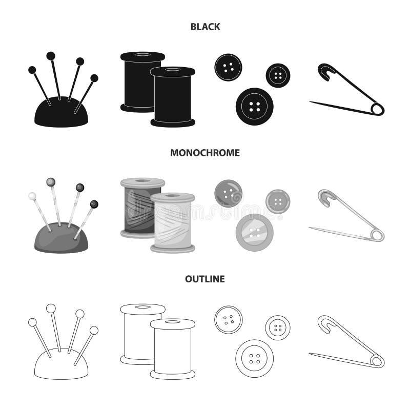 Odosobniony przedmiot rzemios?o i handcraft symbol Set rzemios?a i przemys?u akcyjny symbol dla sieci ilustracji