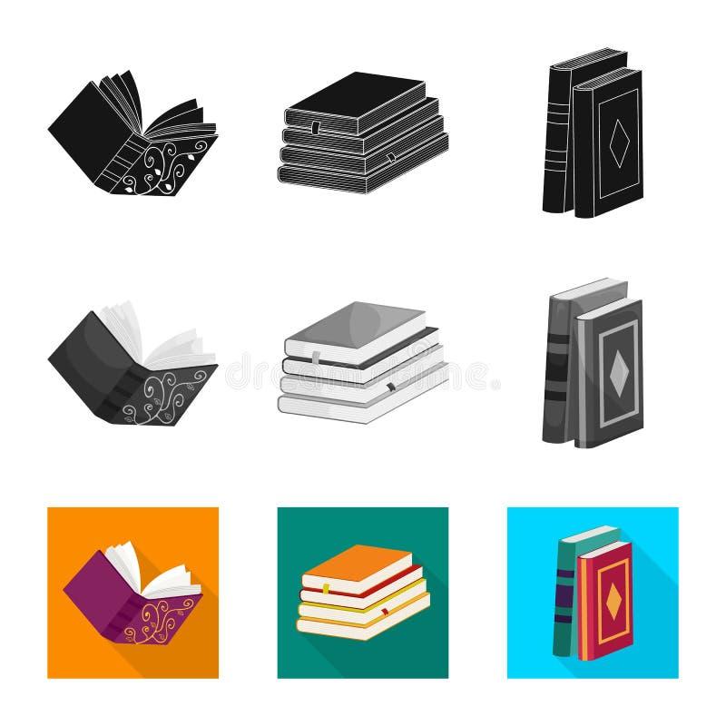 Odosobniony przedmiot szkolenia i pokrywy ikona Kolekcja szkolenie i bookstore akcyjna wektorowa ilustracja ilustracja wektor