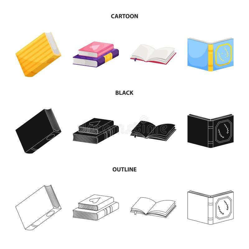 Odosobniony przedmiot szkolenia i pokrywy ikona Kolekcja szkolenie i bookstore akcyjny symbol dla sieci ilustracji