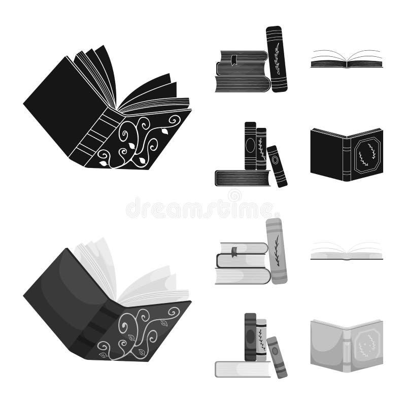 Odosobniony przedmiot szkolenia i pokrywy symbol Kolekcja szkolenie i bookstore wektorowa ikona dla zapasu ilustracji