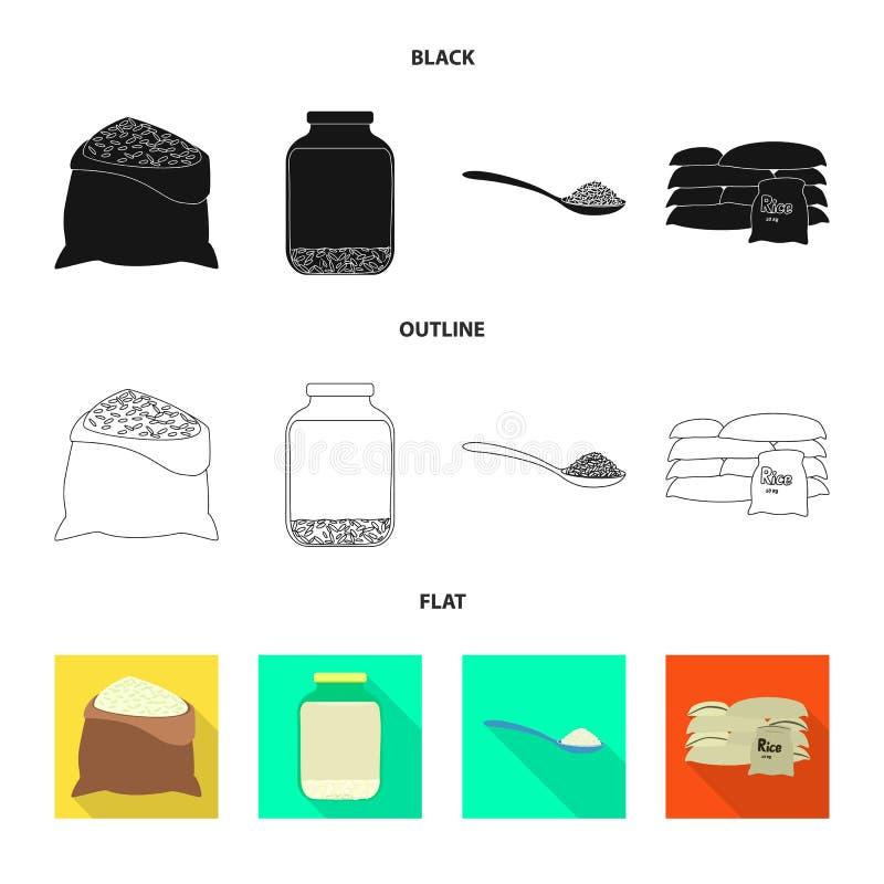 Odosobniony przedmiot uprawa i ekologiczna ikona Kolekcja uprawa i kucharstwo akcyjna wektorowa ilustracja ilustracja wektor