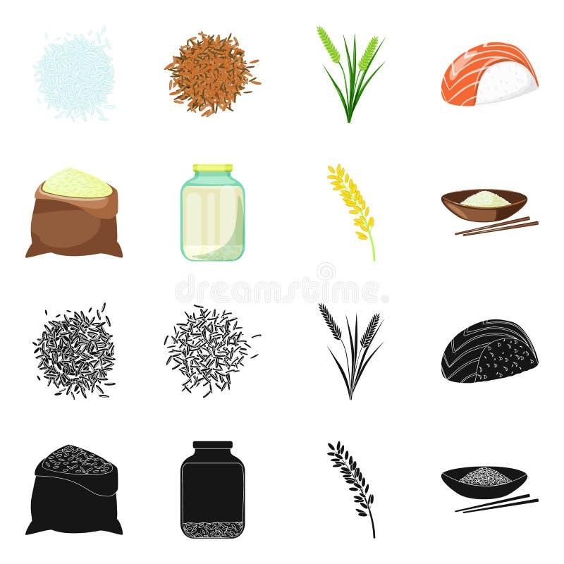 Odosobniony przedmiot uprawa i ekologiczna ikona Kolekcja uprawa i kulinarna wektorowa ikona dla zapasu ilustracji