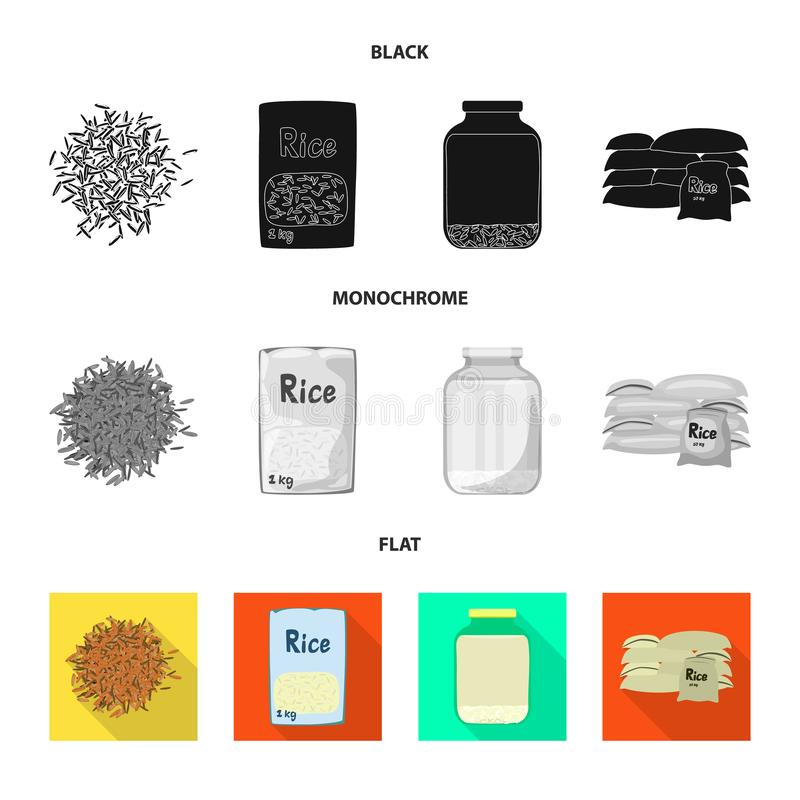 Odosobniony przedmiot uprawa i ekologiczna ikona Set uprawa i kucharstwo akcyjny symbol dla sieci ilustracja wektor