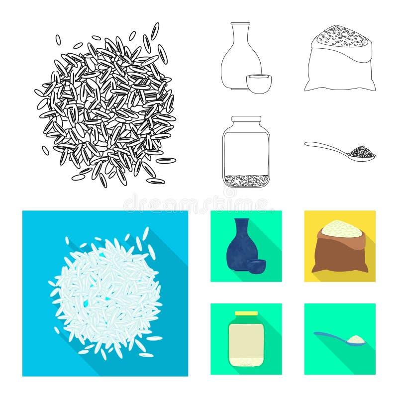 Odosobniony przedmiot uprawa i ekologiczny symbol Set uprawa i kucharstwo akcyjna wektorowa ilustracja royalty ilustracja