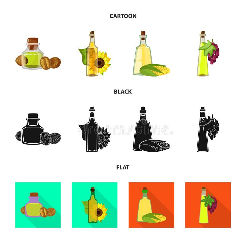 Odosobniony przedmiot zdrowy i jarzynowy logo Kolekcja zdrowa i rolnictwo wektorowa ikona dla zapasu ilustracja wektor