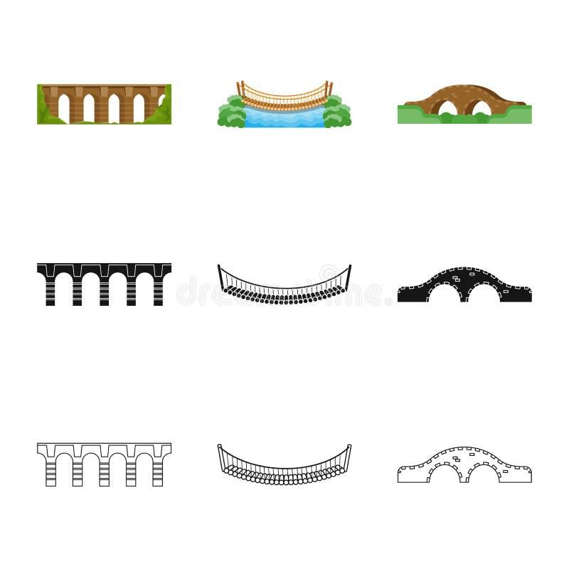 Odosobniony przedmiot związku i projekta symbol Kolekcja związek i boczny akcyjny symbol dla sieci ilustracja wektor