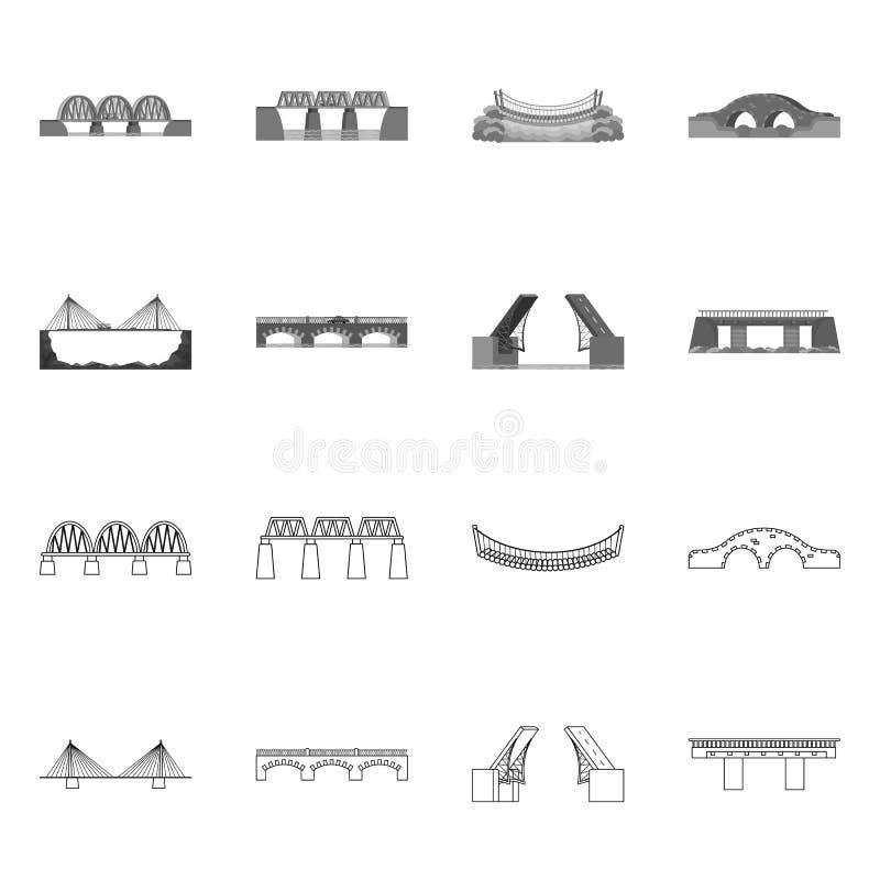 Odosobniony przedmiot związku i projekta symbol Kolekcja związek i boczny akcyjny symbol dla sieci ilustracji