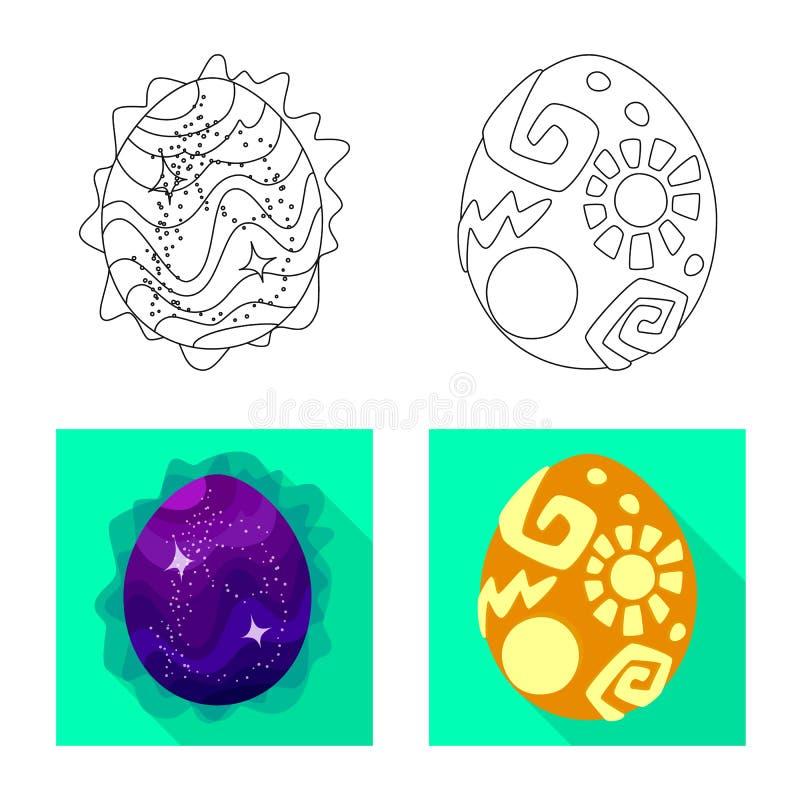 Odosobniony przedmiot zwierz?cy i prehistoryczny symbol Set zwierz?cy i ?liczny akcyjny symbol dla sieci ilustracja wektor