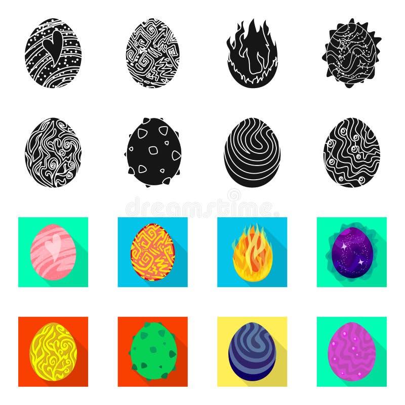 Odosobniony przedmiot zwierz?cy i prehistoryczny symbol Set zwierz?cy i ?liczny akcyjny symbol dla sieci ilustracji