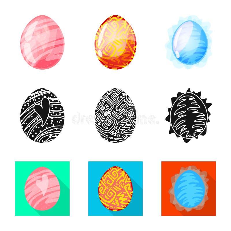 Odosobniony przedmiot zwierz?cy i prehistoryczny symbol Set zwierz?cy i ?liczny akcyjny symbol dla sieci royalty ilustracja
