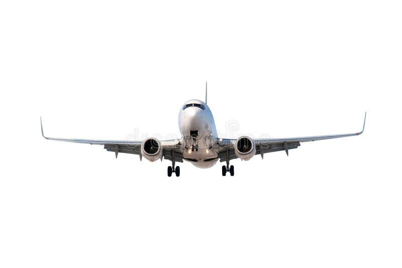 odosobniony samolotu biel zdjęcie royalty free