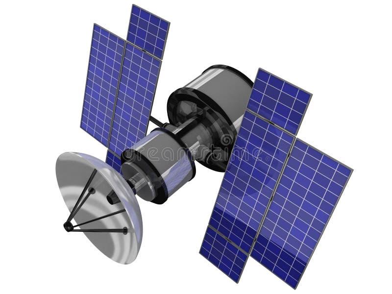 odosobniony sputnic ilustracji