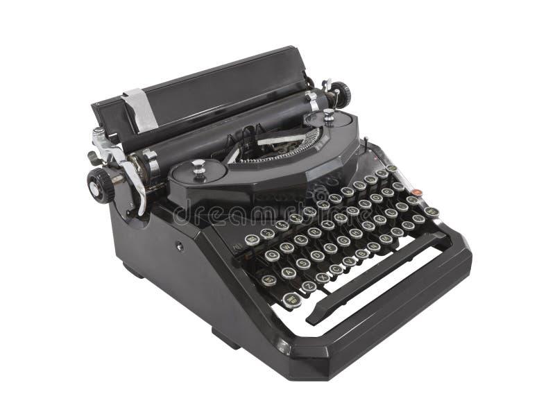 odosobniony stary maszyna do pisania zdjęcia royalty free