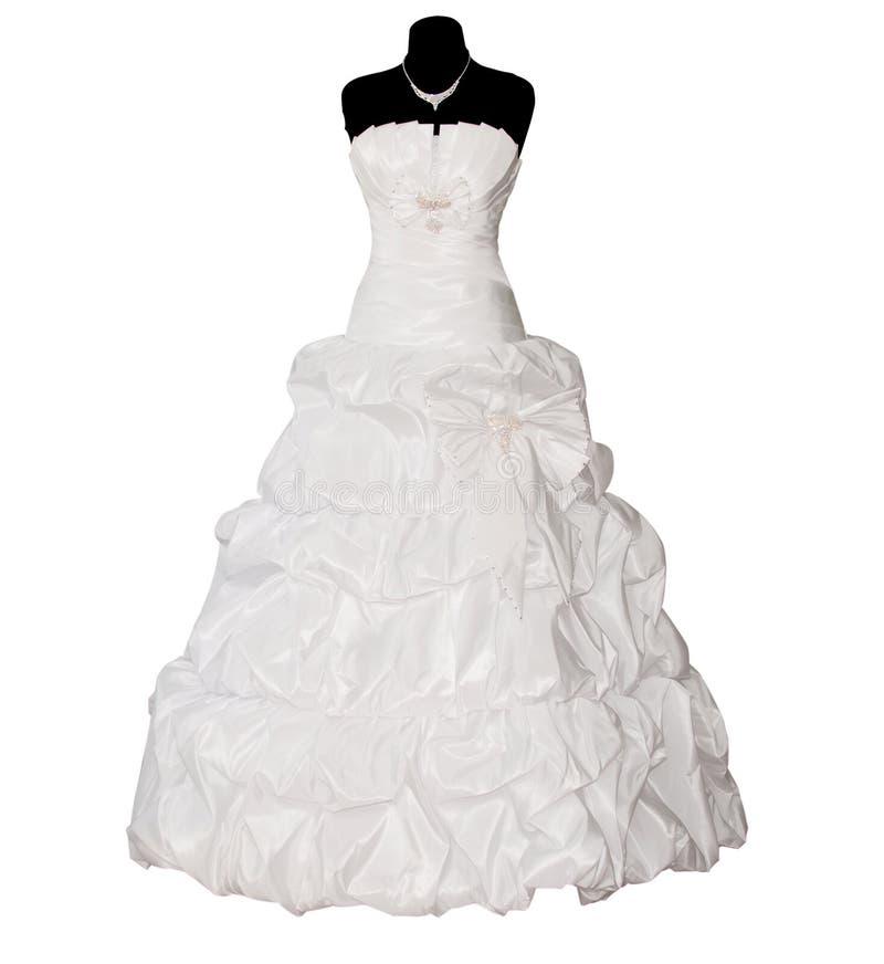 odosobniony suknia ślub obrazy stock