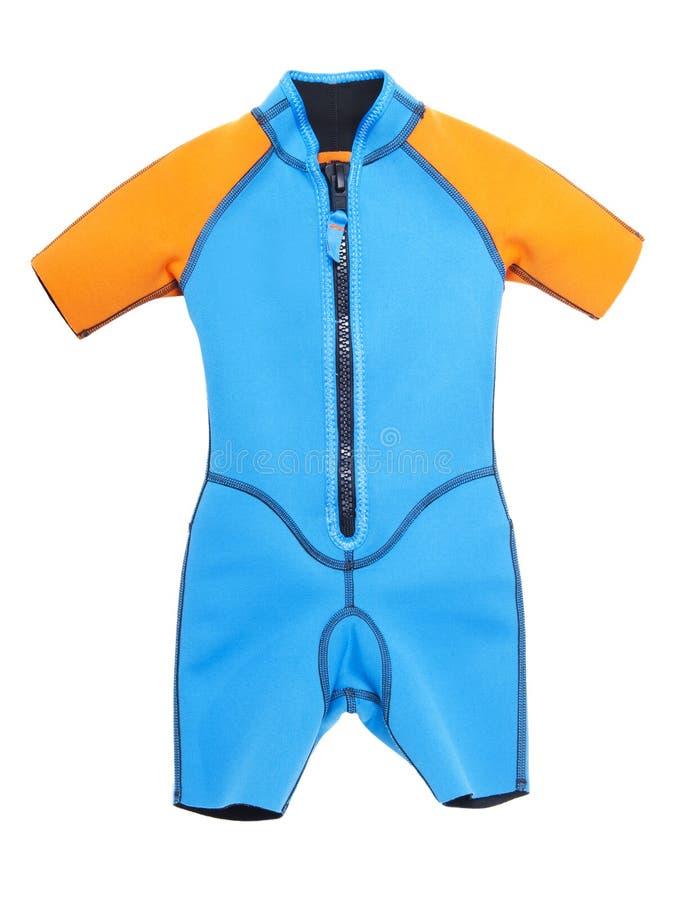 odosobniony wetsuit zdjęcie stock
