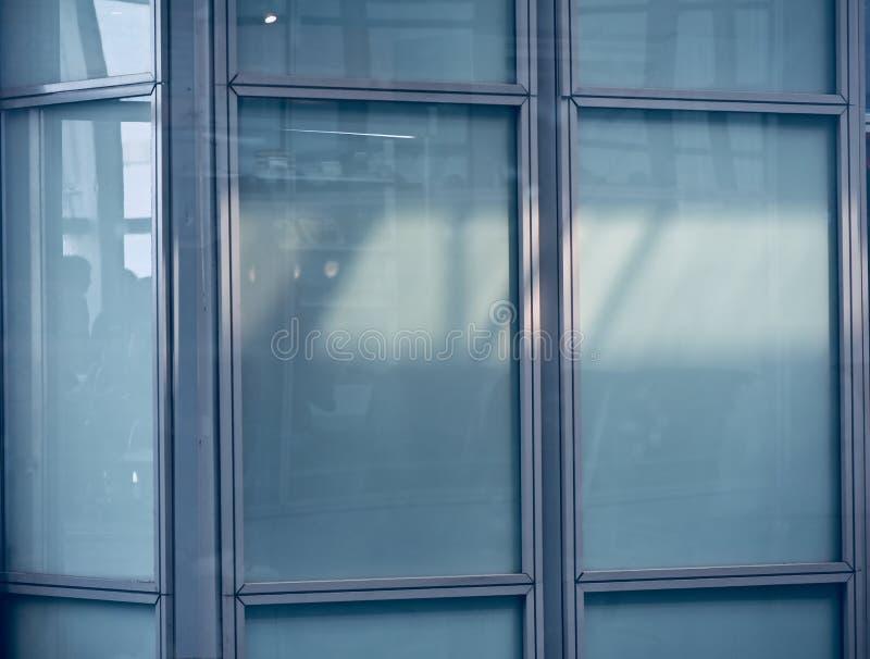 Odosobniony wewnętrzny szkło i kruszcowa przedmiot fotografia zdjęcie stock