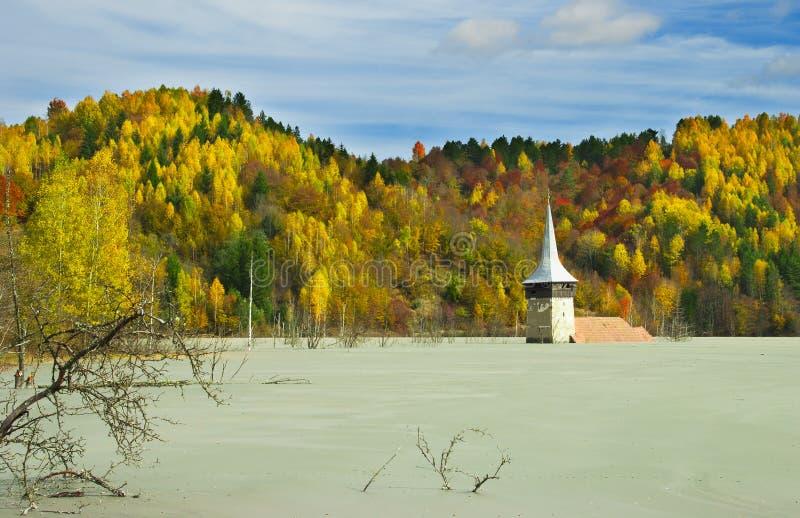 Odpad toksyczny blisko Rosia Montana fotografia royalty free