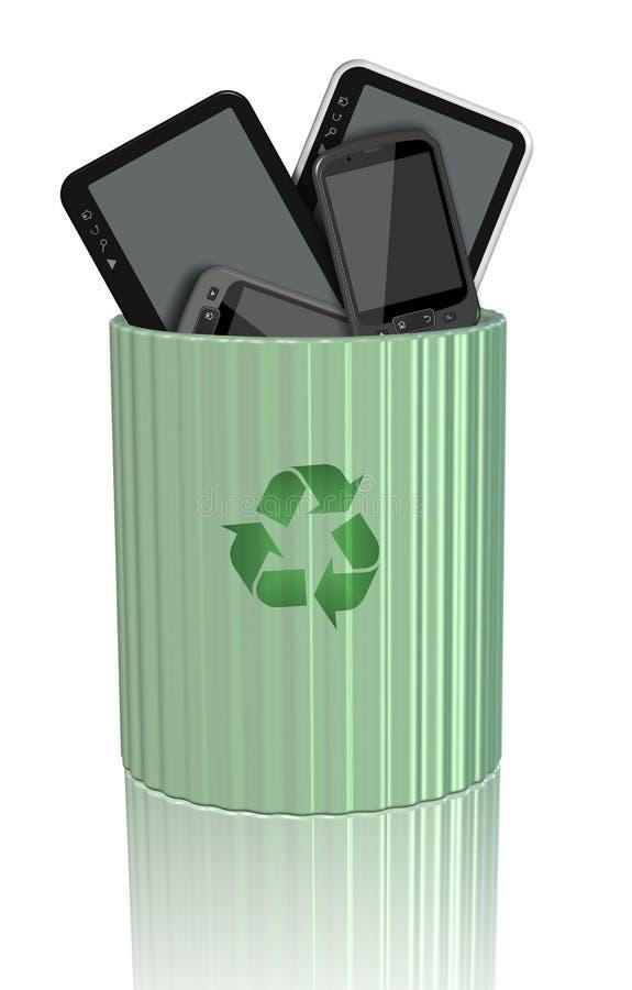 Odpady ilustracji