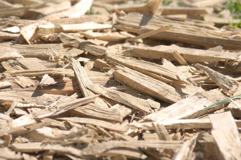 odpady drewna obrazy royalty free