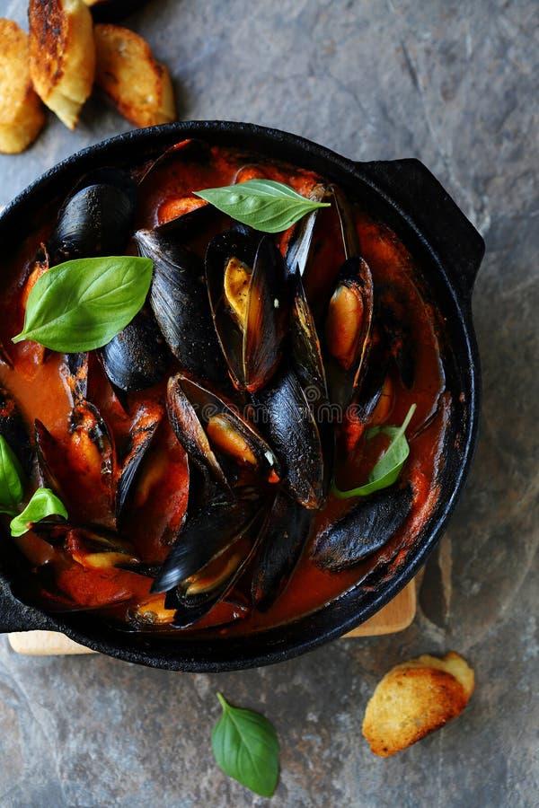 Odparowani mussels w kumberlandzie zdjęcia royalty free