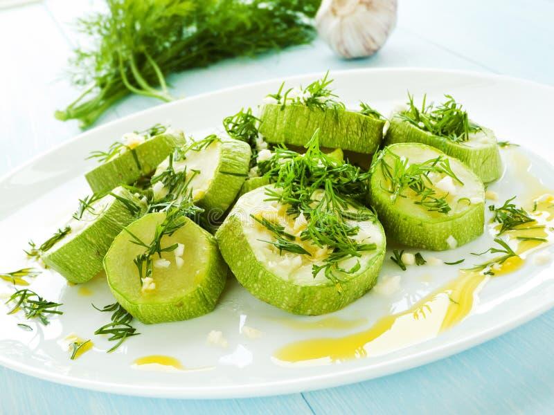 odparowany zucchini zdjęcie royalty free