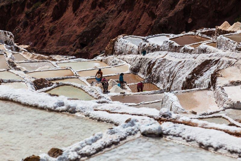 Odparowywanie baseny w Maras obrazy royalty free