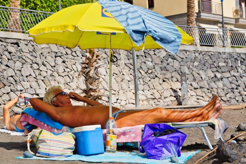 odpocząć na plaży fotografia royalty free
