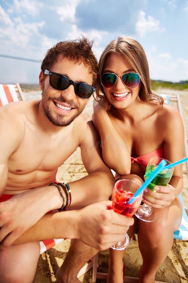 odpocząć na plaży obrazy royalty free