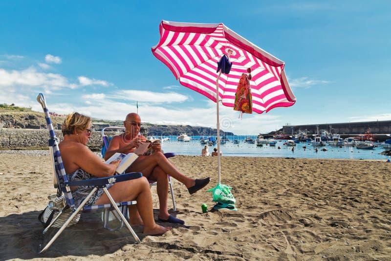 odpocząć na plaży zdjęcie royalty free