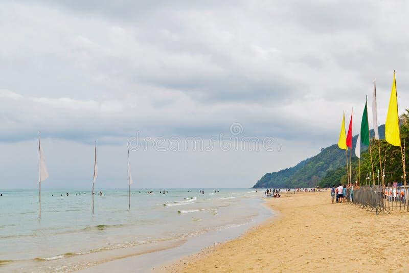 odpocząć na plaży obrazy stock