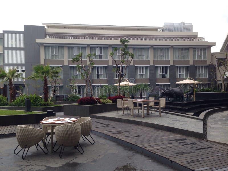 Odpoczynek i Relaksuje przy Mercure hotelem obrazy stock