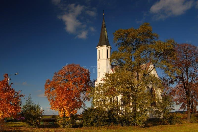 odpowiedz starego kościoła obraz royalty free